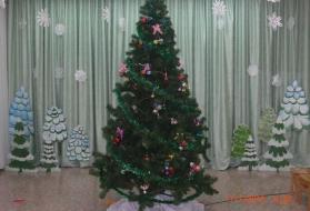 Оформление зала для праздников